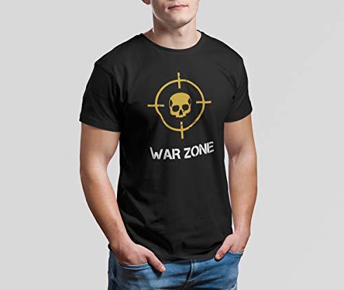 Camiseta Camisa Call of Duty Warzone Masculino Preto Tamanho:M