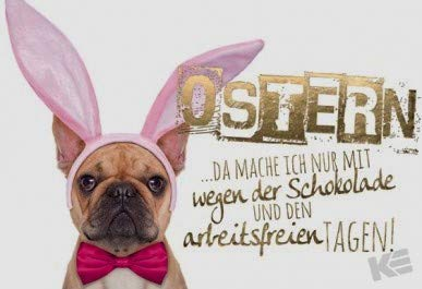 Postkarte zu Ostern