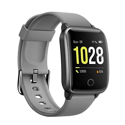 Vigorun Smartwatch Fitness Tracker, Orologio Fitness con cardiofrequenzimetro Tracker contacalorie, Activity Tracker Pedometro Impermeabile IP68 Compatibile con iOS, Android per Donna, Uomo