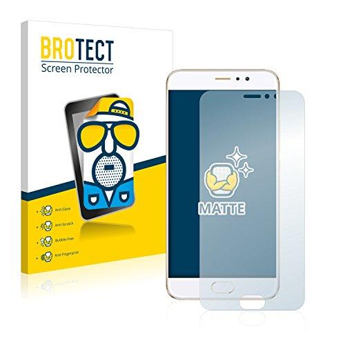 BROTECT 2X Entspiegelungs-Schutzfolie kompatibel mit Meizu Pro 6 Plus Bildschirmschutz-Folie Matt, Anti-Reflex, Anti-Fingerprint