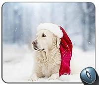 ラボラブラドールレトリーバー犬動物コンピューターPC傷や摩擦を防ぐマウスパッドマット傷や摩擦を防ぐマウスパッドNew!