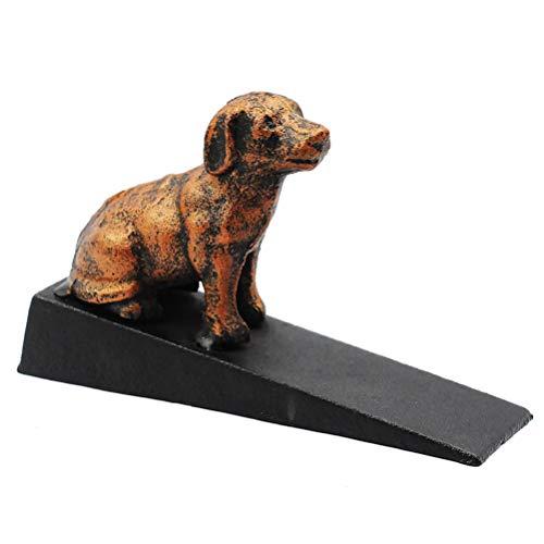 Preisvergleich Produktbild Milisten Eisen Hund Tür Keil Dekorative Niedlichen Tier Statue Türstopper für Schlafzimmer Terrasse Hof Garten Bauernhaus Außentüren