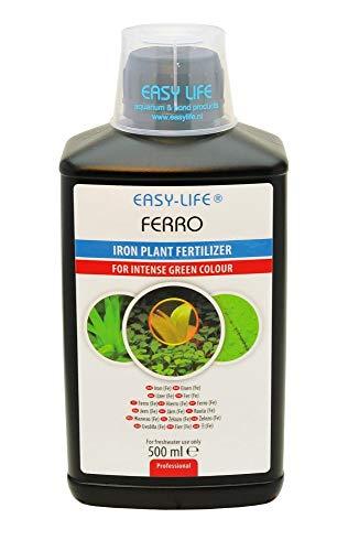 Easy Life 38 Verschiedene Sorten und Größen 250 ml - 5 Liter Profito, Carbo, Kalium, AlgExit, BlueExit, Voogle UVM. (Easy Ferro 500 ml)