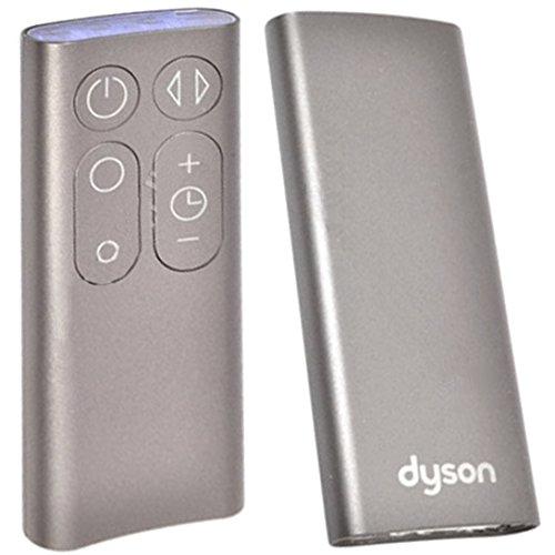 Control remoto original para ventiladores de mesa o de pie Dyson AM06, AM07, AM08 (color plata)