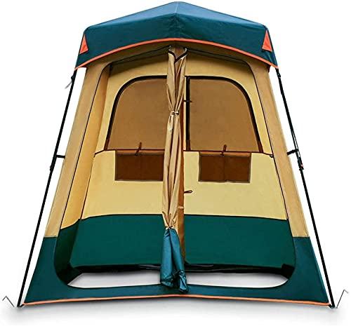Tiendas de campaña para el cambio de la playa de campamento Cambio de dosel, pop Up Privacy Shower Tienda, ducha al aire libre, con ventilación avanzada y fácil constructi, fácil configuración, plegab