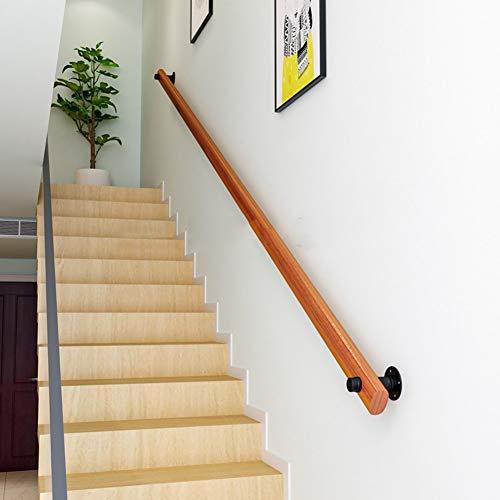 1ft-20ft Moderne Treppengeländer Handläufe, Kiefer, Wand-Home Interior Loft Bad rutschfeste Treppengeländer - Starke Trag