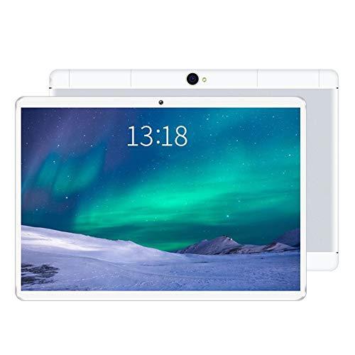 ELLENS Tableta de 10.1 Pulgadas Android 9.0, 32GB ROM 2GB RAM, 3G Call Phone Tablet PC, Cámara Dual Ranuras para Tarjetas SIM Dobles desbloqueadas, Bluetooth, GPS, WiFi