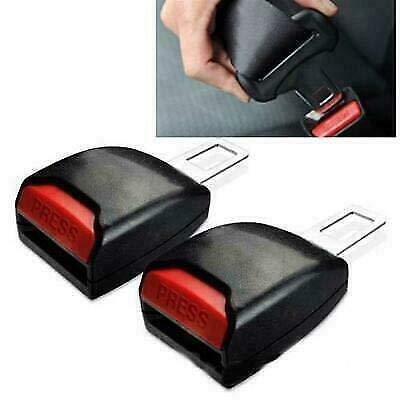 2X Gancio per cintura di sicurezza universale blocca allarme sonoro auto