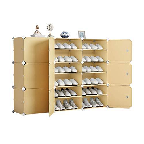 MJY Estanterías de Zapatos Organize Locker Children's Shape Shelf Multi-Capa Alto Plastic Shoe Shelf Extensible Apilable Zapato Gabinete Recoger Soldries,6 Niveles,6 Niveles
