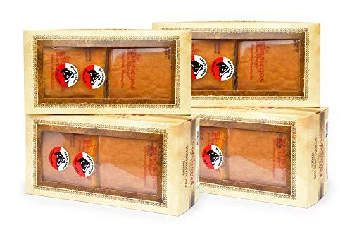 Mejores Sobaos Pasiegos de Cantabria - 4 paquetes de 4 sobaos grandes. Los Pasiegos de Diego, PREMIO AL MEJOR SOBAO Pasiego de Cantabria