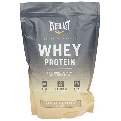 Everlast Unisex Whey Protein Nutrition Powder Training Vanilla Ice One Size