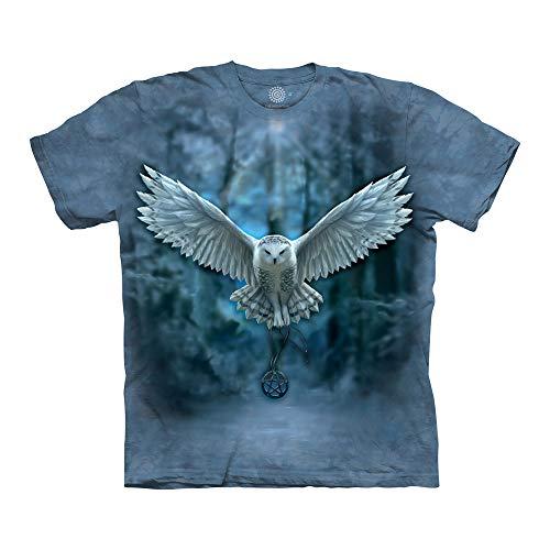 The Mountain Unisex-Erwachsene Awake Your Magic T-Shirt, blau, X-Large