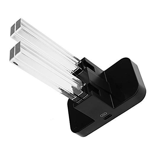 BIYM - Cargador 4 en 1 LED de Carga Tipo C para Joy-con estación de Carga
