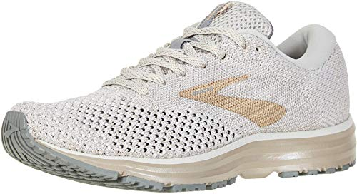 Brooks - Chaussures de running femme adulte Revel 2 - blanc/champagne - taille 43 - largeur moyenne...
