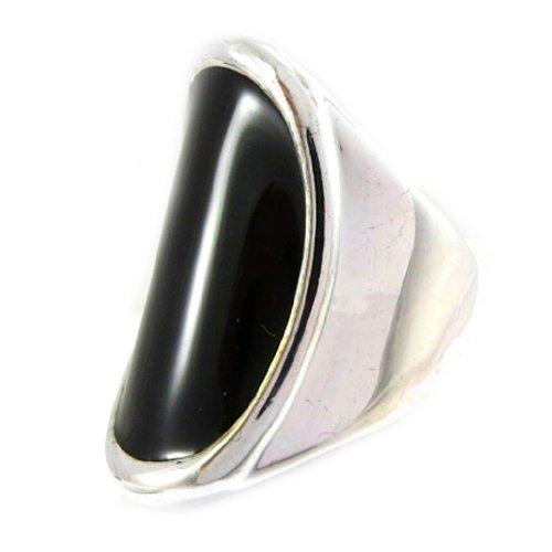 Les Trésors De Lily [E4333] - Ring 'Black And White' .