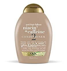 OGX Conditioner Anti-Hair Fallout Niacin + Caffeine Conditioner
