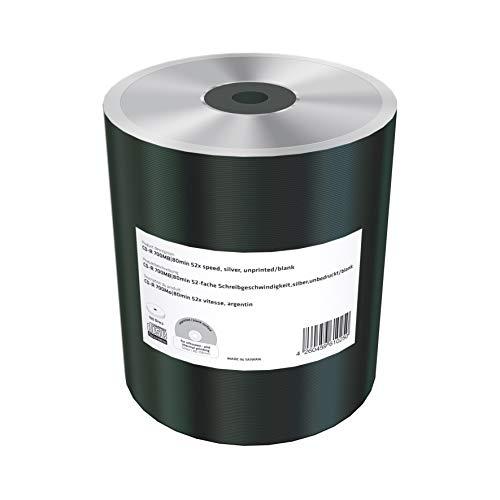 Mediarange MR230 CD-R vergini argentati 700mb 80 minuti in shrink da 100