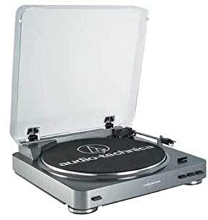 Audio-Technica AT-LP60 Fully Automatic Belt Driven Turntable - Silver (B002GYTPAE) | Amazon price tracker / tracking, Amazon price history charts, Amazon price watches, Amazon price drop alerts