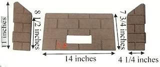 Best wood stove bricks Reviews