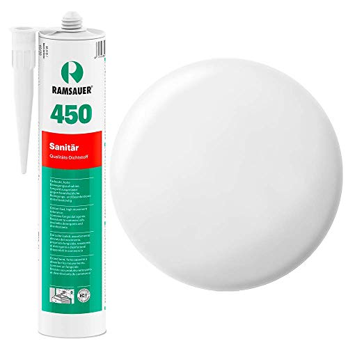 Ramsauer 450 1K Silikon Dichtstoff 310ml Kartusche (Weiß)