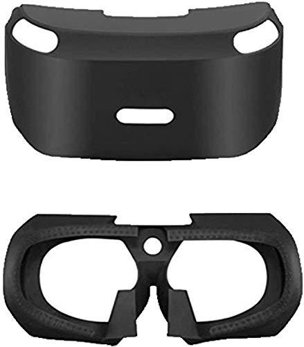 Repuesto de goma de silicona suave para auriculares de realidad virtual de realidad virtual con cubierta protectora de gafas 3D para Playstation 4 PS4 VR PSVR