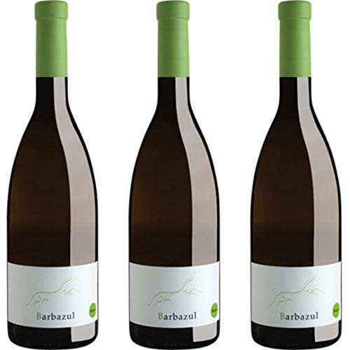 Barbazul Vino Blanco - 3 botellas x 750ml - total: 2250 ml
