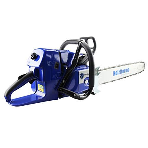"Farmertec Holzfforma Blue Thunder G660 Gasoline Chain Saw Chainsaw 92CC with 3/8"" .063"" 25 Inch Guide Bar and 25 Inch 3/8"" .063"" 84DL Saw Chain"