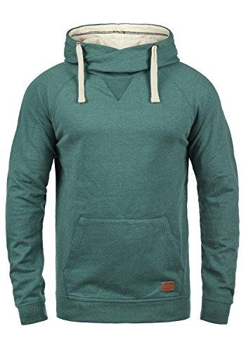 Blend Sales Herren Kapuzenpullover Hoodie Pullover mit Kapuze, Größe:L, Farbe:Green Atlantic (77194)