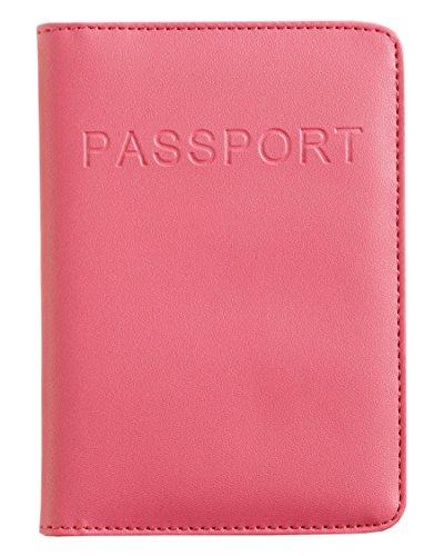Smooth Trip RFID-Blocking Passport Wallet, Einheitsgröße Rosa