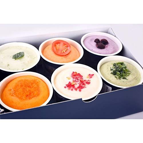 ベジターレ『とれたて野菜と果実の生ジェラート カップ6種入り』