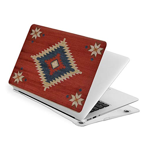 Native Tribal Indian Geometric Texture MacBook Pro 13 Inch Case 2016-2019Release A2159 A1989 A1706 A1708, Plastic Hard Shell Case for Apple Mac Pro 13 with/Without Touch Bar