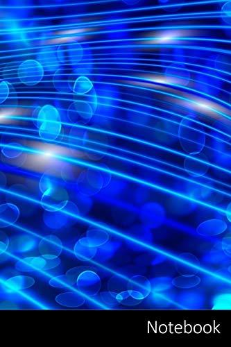 Notebook: La Física, La Física Cuántica, Las Partículas, Ola Cuaderno / Diario / Libro de escritura / Notas - 6 x 9 pulgadas (15.24 x 22.86 cm), 150 páginas, superficie brillante
