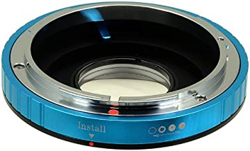 Fotodiox Lens Mount Adapter - Canon FD, New FD, FL Lens to Nikon Camera, for Nikon D1, D1H, D1X, D2H, D2X, D2Hs, D2Xs, D3, D3X, D3s, D4, D100, D200, D300, D300S, D700, D800, D800E, D40, D50, D60, D70, D70S, D80, D40X, D90, D3000, D3100, D3200, D5000, D5100, D7000, Fuji S1, S2, S3, S5