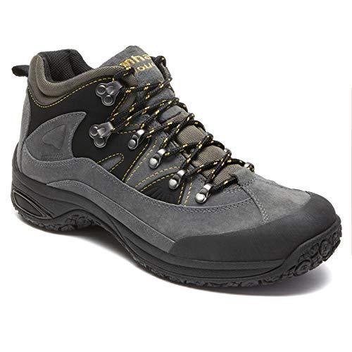 Dunham Men's Cloud Mid-Cut Waterproof Boot, Slate Black - 12 4E US