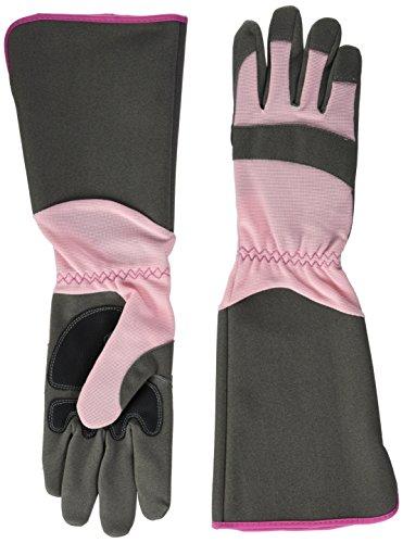 Green Gloves gar1910lp08Gartenhandschuhe Rose, Pink, Grau, 08