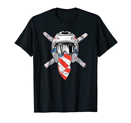 Funny Send It T Shirt American USA 2 Stroke Motocross Legend