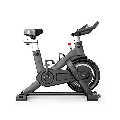 GLXYFC Fitness Sports Smart Spinning Bike Ultra Silencioso Ejercicio Bicicleta Ejercicio Bicicleta Hogar Pedal Deportes Interior Negro