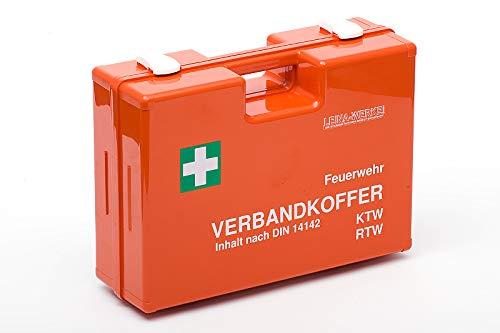 LEINAWERKE 40000 Verbandkoffer für Feuerwehr und Krankenwagen orange 1 STK.