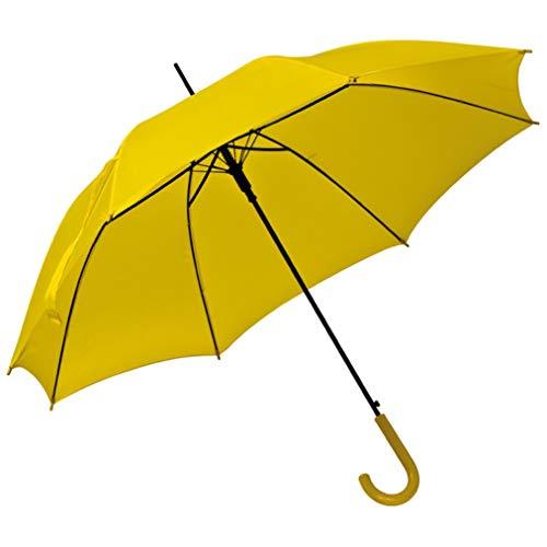 Automatikschirm - Regenschirm - Ø 100 cm (gelb)