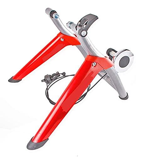 DKBE Soporte de Entrenador de Bicicleta para Interior, Resistencia Variable Entrenador de Bicicleta de Interior para Bicicleta de Carretera Plataforma de conducción Interior