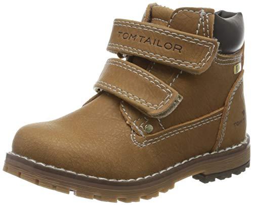 TOM TAILOR Jungen 7973003 Klassische Stiefel, Beige (Camel 00070), 22 EU