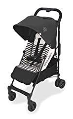 Lightweight and Compact. The Quest arc's basic weight is 13.7lb; ideal for newborns and children up to 55lb. You can do it all with one-hand- open, close, push and adjust the seat, footrest and front safety lock. The stroller comes fully assembled. C...