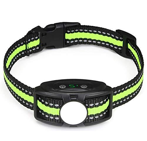 JJOBS Collar Antiladridos para Perros para Addestramento Automático, con Ajustable Vibración sin...