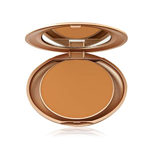 Milani Pressed Powder - Rich Beige (0.35 Ounce) Cruelty-Free Powder Foundation Compact with a Matte Finish for Light to Full Coverage
