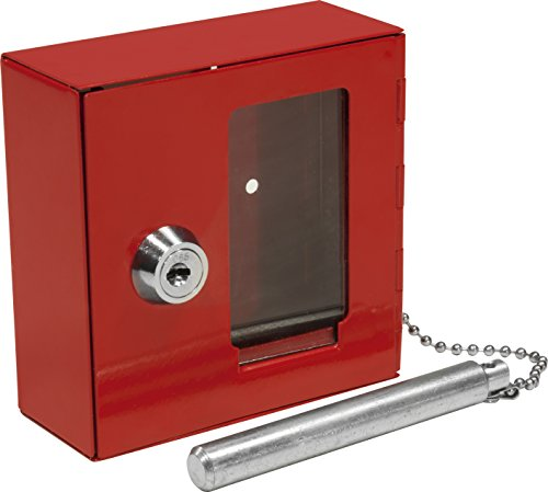 BARSKA Breakable Emergency Key Box w/ Attached Hammer