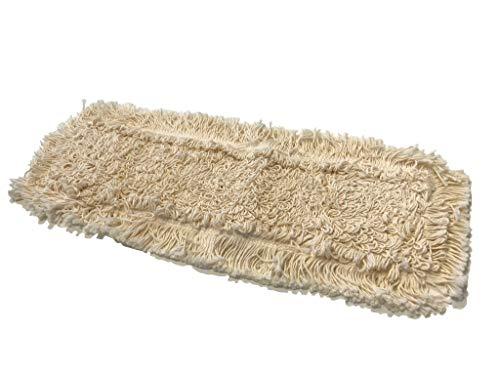 RPG 5 Stück 50 cm Wischmop aus 100% Baumwolle - Hochwertiger Profi Wischbezug für Klapphalter - Bodenwischer Mop für Echtholz Parkett, Dielen, Laminat und Fliesen - Wischbezüge Wischmopp