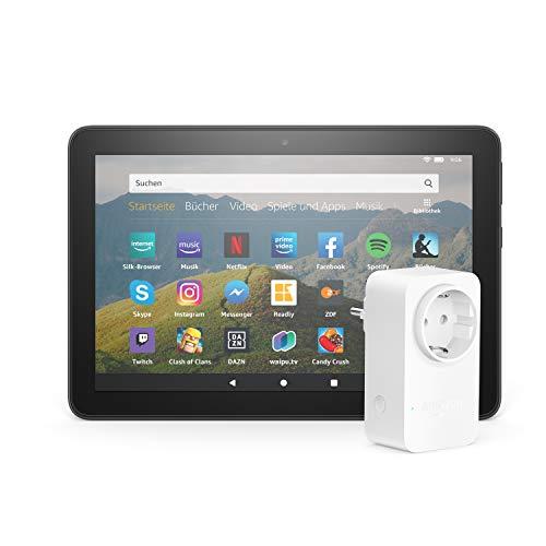 Fire HD 8-Tablet | 8-Zoll-HD-Display, 32 GB, Mit Werbung| Schwarz | Mit Amazon Smart...