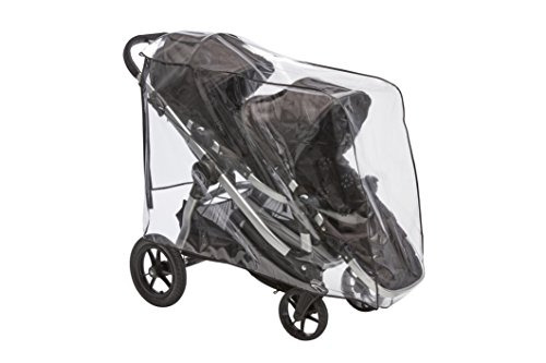 Sashas Premium Series Rain and Wind Cover for Baby Jogger City Select Double Stroller