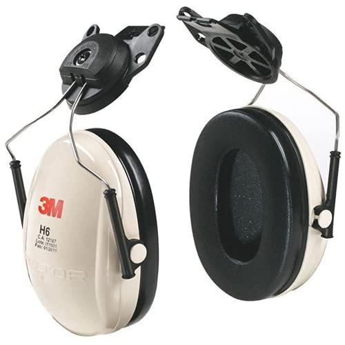 3M Peltor Optime 95 Cap-Mount Earmuffs, Hearing Conservation H6P3E/V