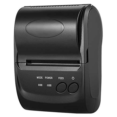 ZZHJYD Mini Impresora inalámbrica portátil de la Impresora térmica de la Impresora de la Impresora POS de la impresión para Las Ventanas de iOS Android